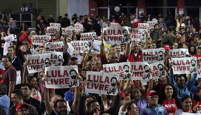 """Tema principal do Congresso será o """"Lula Livre"""""""