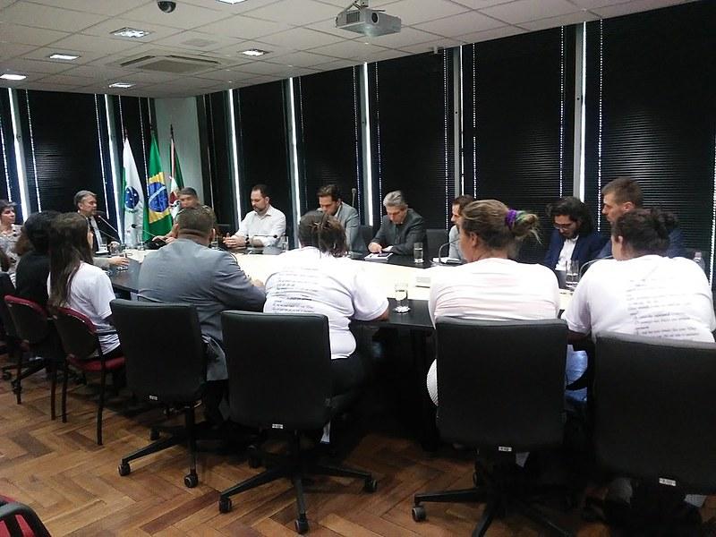 """""""É responsabilidade do MP investigar e identificado crime, seja de que lado for, buscar a punição"""", disse Olympio de Sá Sotto Maior Neto"""