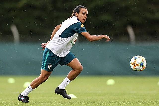 Marta, camisa 10 da seleção verde-amarelo e cinco vezes melhor do mundo, é cogitada ao Real Madrid