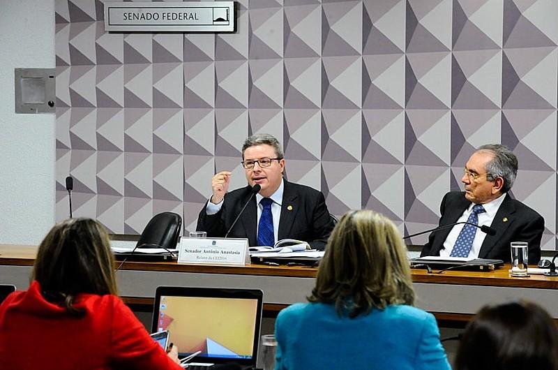 Relator Antonio Anastasia (PSDB-MG) recomenda o impeachment da presidenta Dilma Rousseff