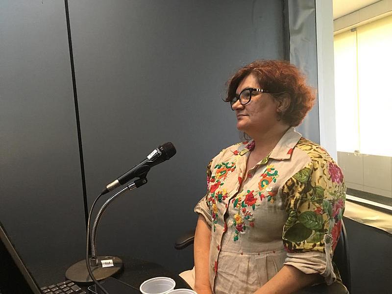 Cida Pedrosa é secretária da mulher do Recife e falou também sobre campanha educativa da prefeitura