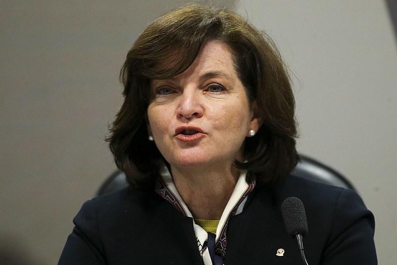 Sabatina de Raquel Dodge na Comissão de Constituição e Justiça (CCJ) do Senado no último dia 12
