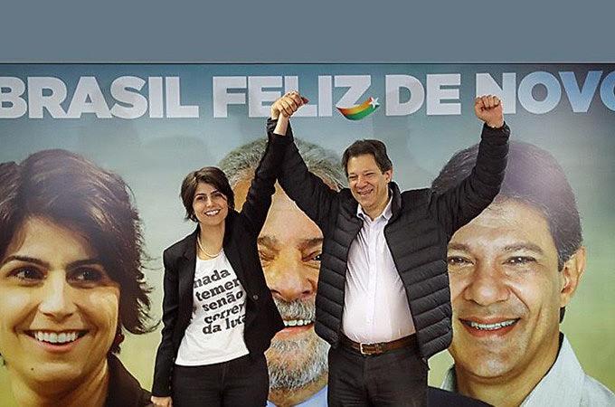 Fernando Haddad e Manuela, a solução do PT se Lula for impedido