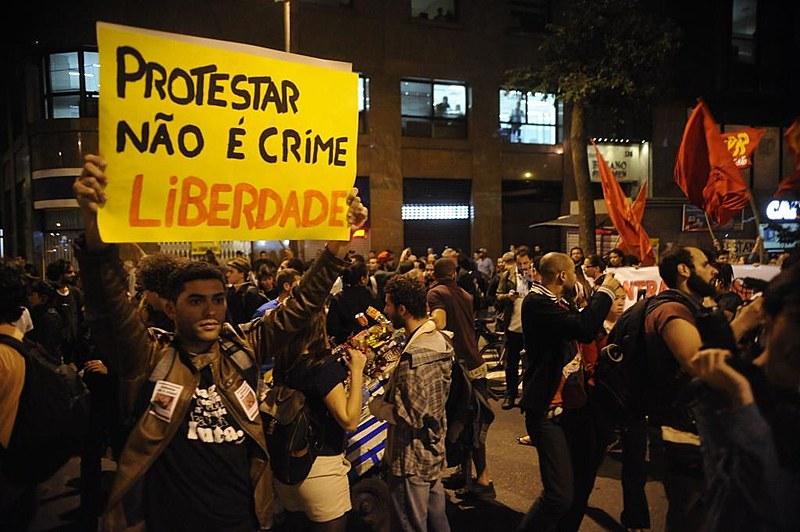 As ações de movimentos sociais podem ser enquadradas como atos de terrorismo caso seja aprovada a modificação da lei