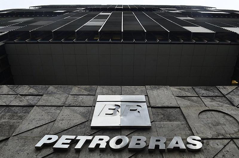 Edifício-sede da Petrobras na Avenida Chile, centro do Rio de Janeiro