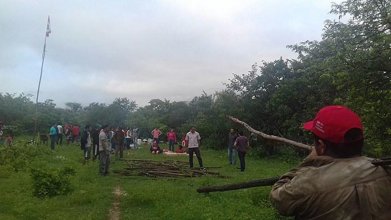 No Ceará, 200 famílias ocuparam nesta terça (10) área do Dnocs no sertão do estado; famílias exigem indenização por construção de lago