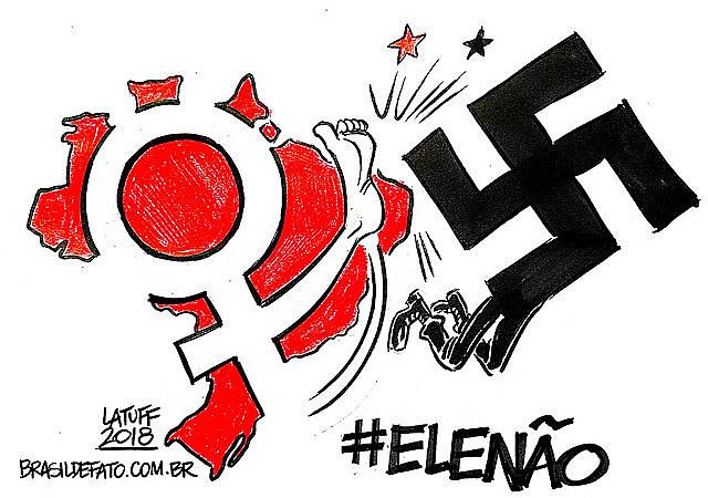 Projeto fascista deve ser derrotado nas urnas