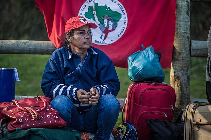 Ocupação do MST na fazenda do Ricardo Teixeira - Volta Redonda - RJ - 25/07/2017