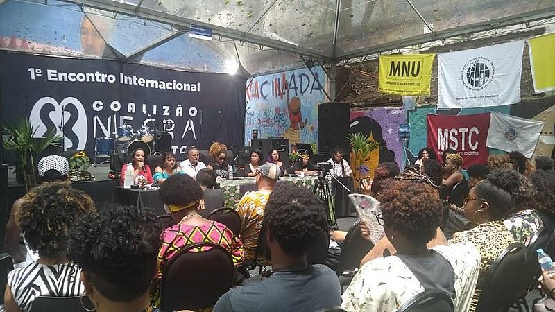 Evento fez parte de uma articulação internacional da Coalizão Negra por Direitos e reuniu militantes de mais de cem movimentos em São Paulo