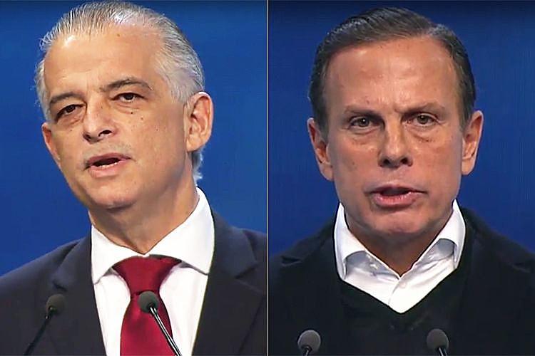 França e Dória chegaram no segundo turno com ritmos opostos de crescimento