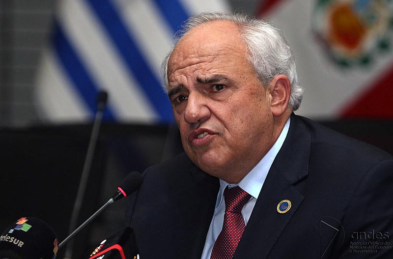 Samper também comentou proposta do presidente da Colômbia, Iván Duque, de dissolver Unasul