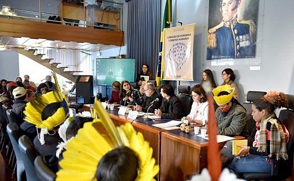 Audiência para ouvir os relatos das vítimas da repressão foi realizada no prédio da Assembleia Legislativa do RS
