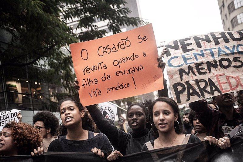 Protestos de 15 de maio em defesa da educação no Brasil