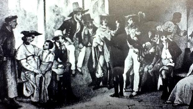 O povo pernambucano se rebela contra o domínio colonial em 06 de março de 1817