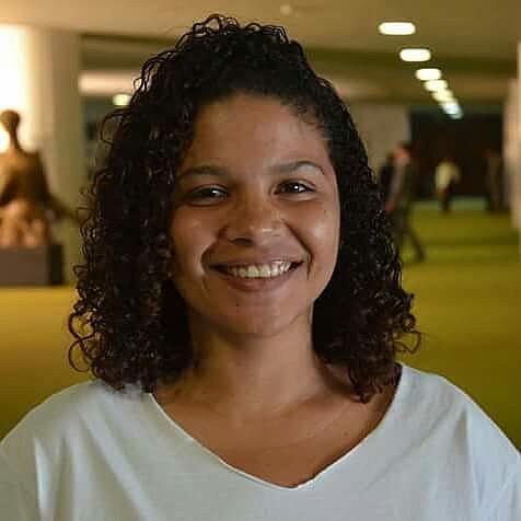 Jessy Dayane é diretora de Políticas Educacionais da União Nacional dos Estudantes (UNE)