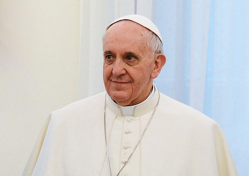 Papa Francisco em março de 2013, durante visita à presidenta Cristina Kirchner, na Argentina