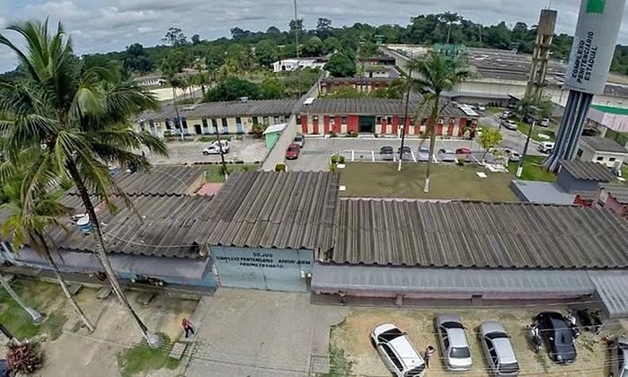 Complexo Penitenciário Anísio Jobim, local onde ocorreram as mortes