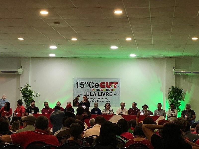 Eleição aconteceu durante o Congresso Estadual da CUT