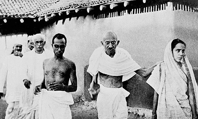 Gandhi led nonviolence movement for India's independence and was assassinated on Jan. 30, 1948 by an advocate of Hindu nationalism