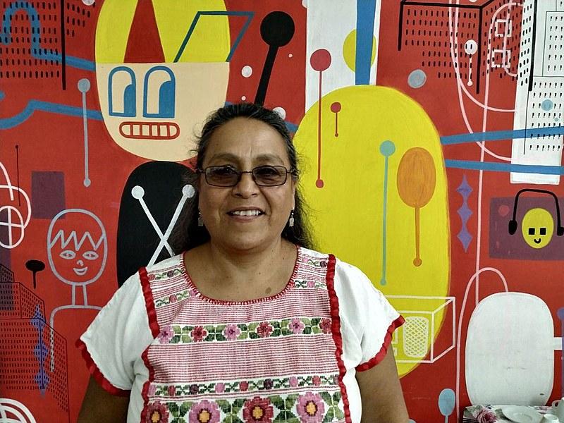 Sandra Morán é militante popular e em 2015 foi eleita deputada do Congresso da República da Guatemala representando o movimento feminista