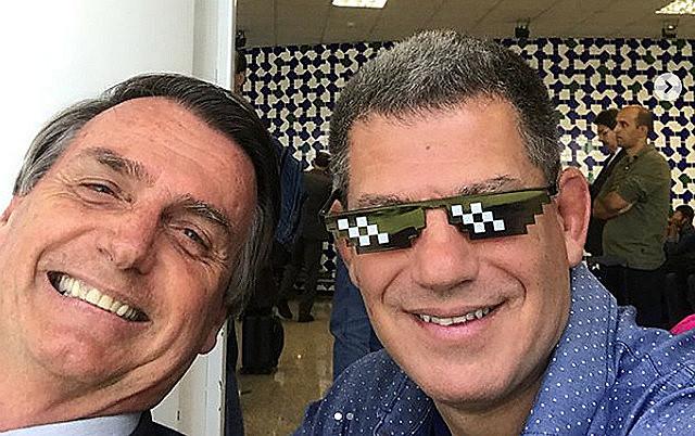 Gustavo Bebianno, hoje ministro da Secretaria-Geral da Presidência, era coordenador da campanha de Bolsonaro