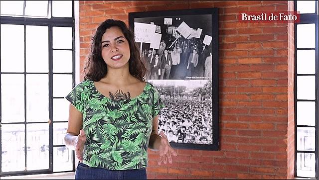 La periodista Pâmela Oliveira presentará el nuevo programa semanal producido por Brasil de Fato para público en inglés