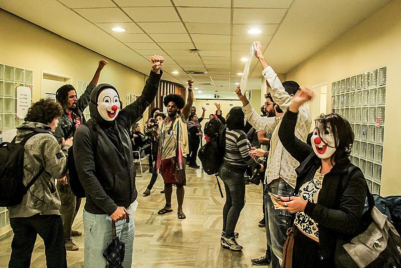 Prédio do Ministério da Saúde no Rio foi ocupado por manifestantes