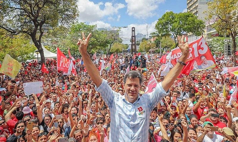 Fernando Haddad estará mais uma vez em Fortaleza