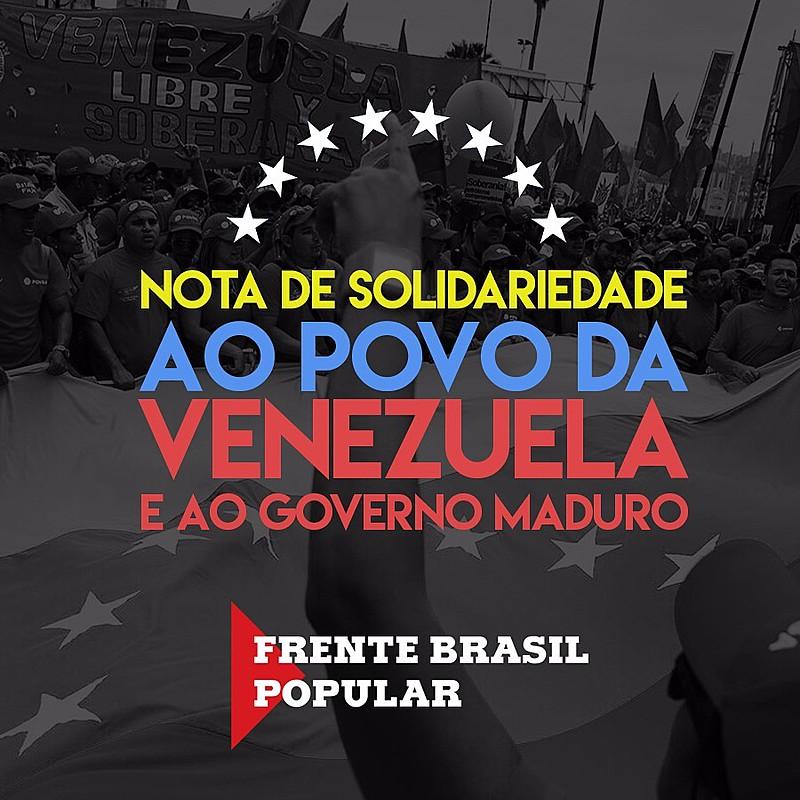 Frente Brasil Popular manifesta seu posicionamento em meio ao conflito