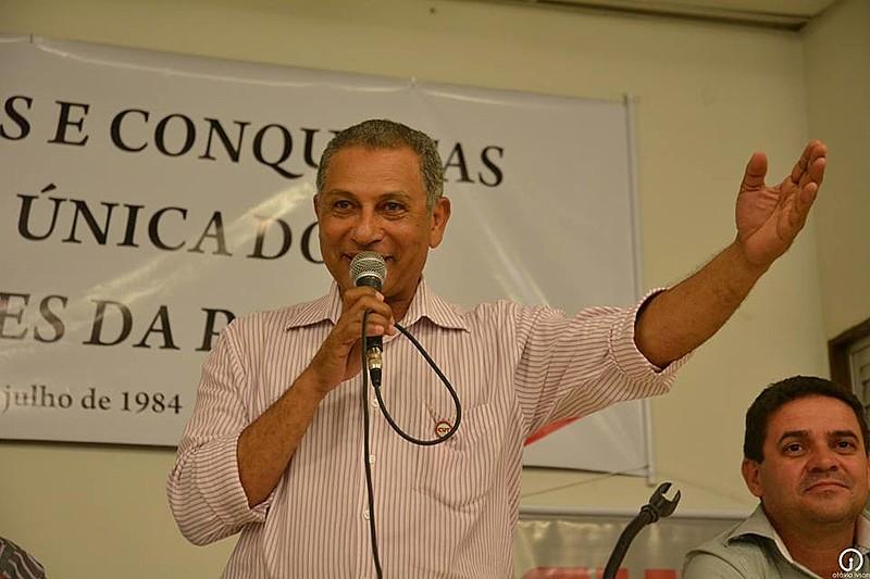Paulo Marcelo, presidente da CUT-PB