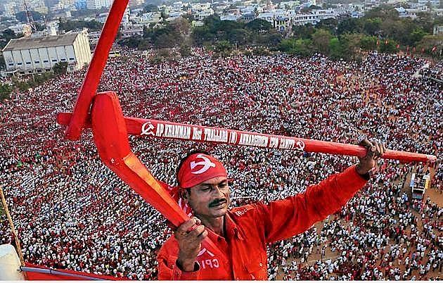 Uma imensa mobilização de trabalhadores rurais indianos contra a violência e as políticas do governo marca 2018