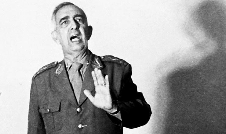 General Ednardo D'Avila Mello, ligado ao DOI-Codi de São Paulo e exonerado por Geisel após assassinato do operário Manoel Fiel Filho