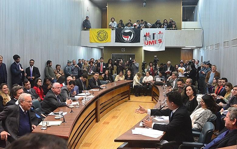 Durante a oitiva, a tática de desmerecer a investigação foi repetida hoje pela base do governador Alckmin
