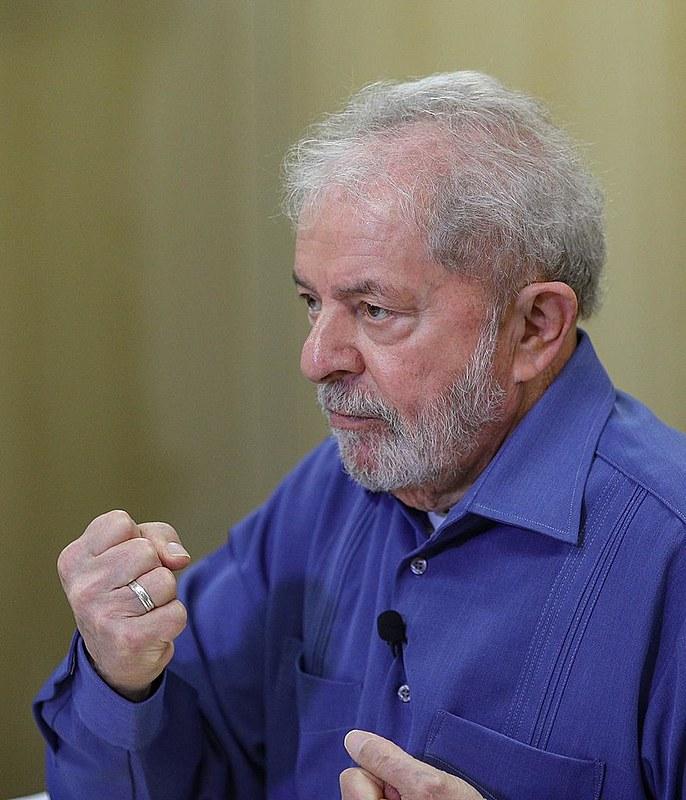 O Brasil de Fato entrevistou o ex-presidente Lula na sede da Superintendência da Polícia Federal em Curitiba