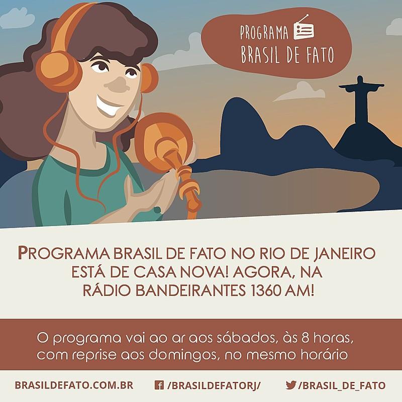 Programa vai ao ar todos os sábados, às 8 horas, com reprise aos domingos, no mesmo horário, na Rádio Bandeirantes 1360 AM