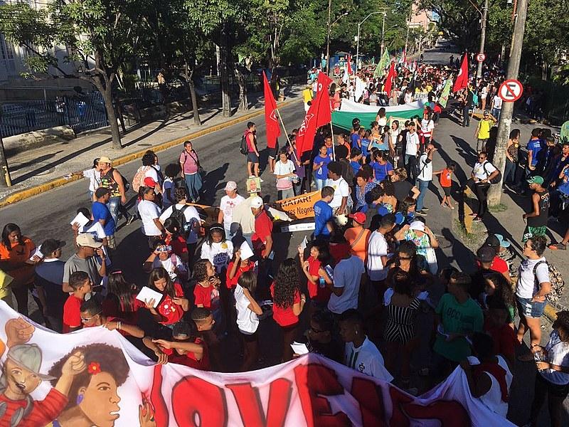 A ação é organizada pelo Fórum de Juventude Pernambucana (Fojupe), que reúne diversas organizações e movimentos populares