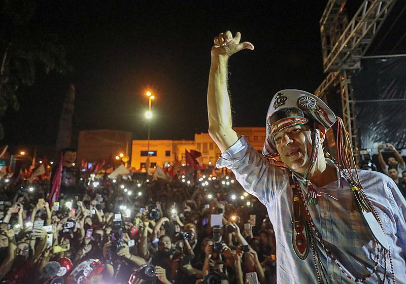 Haddad participa de ato no Recife, em Pernambuco