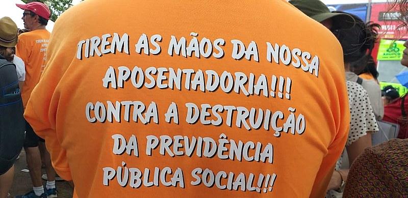 Atos acontecem no Brasil todo. Em Patos, Cajazeiras, CG e Pedras de Fogo, as manifestações estão acontecendo pela manhã.
