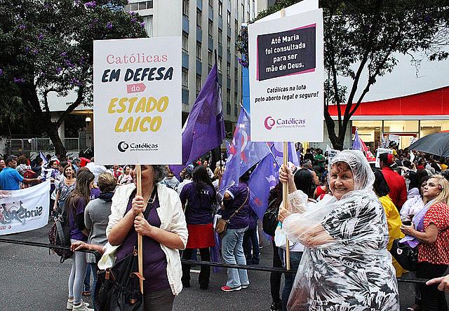 O grupo Católicas pelo Direito de Decidir atua internacionalmente e se articula em 12 países pelo mundo