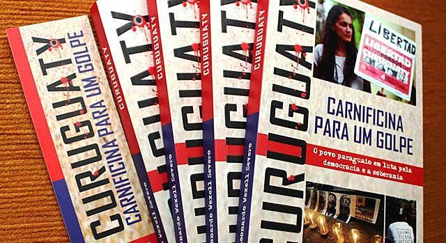 O livro relata como os políticos paraguaios, as grandes multinacionais e a grande mídia conduzem violações de direitos dos camponeses