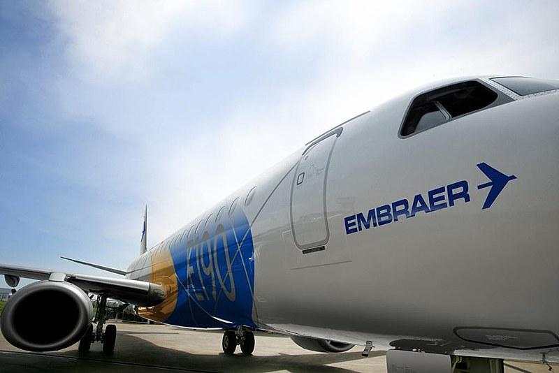 A Embraer foi a terceira maior exportadora do Brasil em 2017; o governo brasileiro é acionista especial da empresa