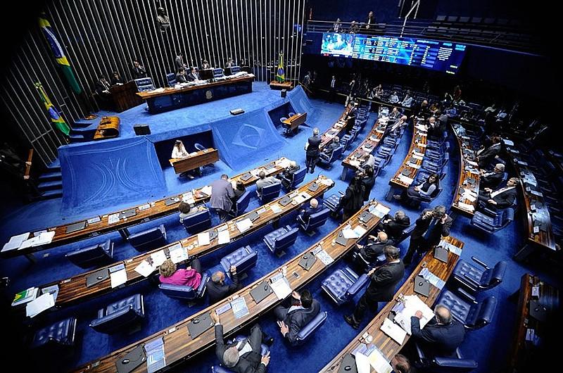 Plenário do Senado tem 81 cadeiras e novo presidente precisará obter 41 votos em eleição interna