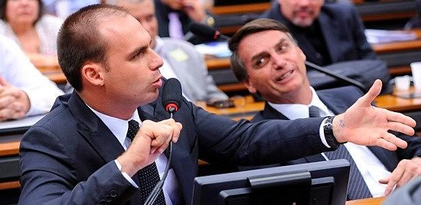Filho do presidente da República, deputado Eduardo Bolsonaro (PSL-SP) é bola da vez entre as polêmicas que circundam o governo