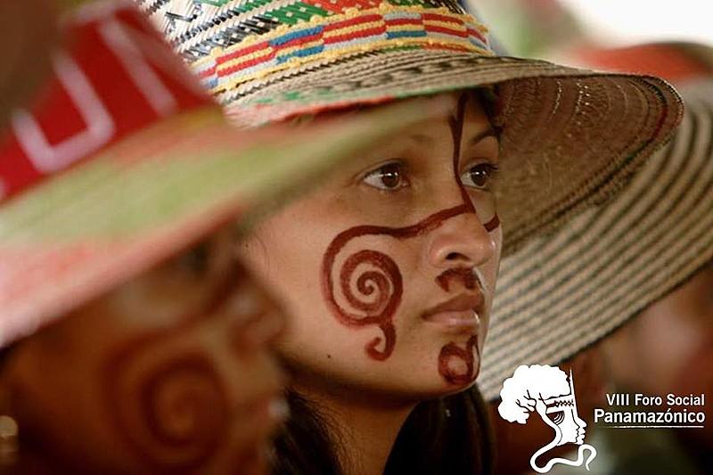 Cartaz de divulgação do VIII Fórum Social Pan-Amazônico (VIII FSPA)