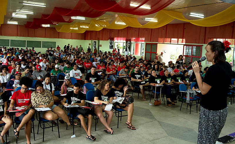 A preparação para o Congresso do Povo, no último final de semana, também discutiu a mobilização pela liberdade de Lula.