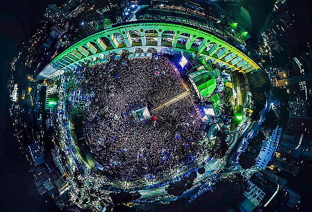 Tens of thousands attended the Free Lula Festival in Rio de Janeiro last Saturday