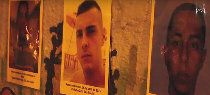 Moradores relembraram outras vítimas da violência policial nas periferias