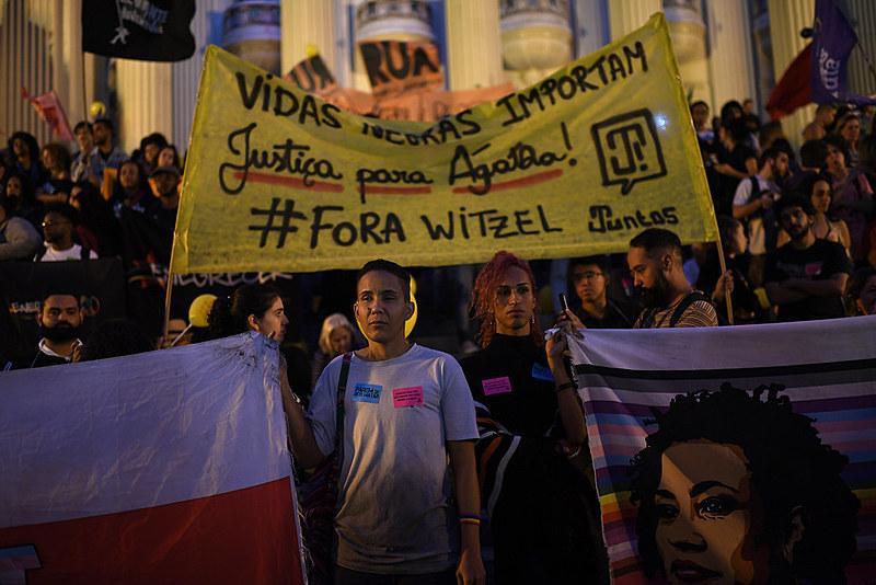 De janeiro a agosto de 2019, 1249 pessoas foram mortas em ações policiais no estado do Rio de Janeiro