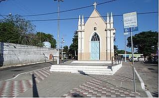 Igreja de São João Batista na Vila de Ponta Negra (RN)