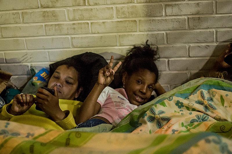 crianças ocupação urbana BH